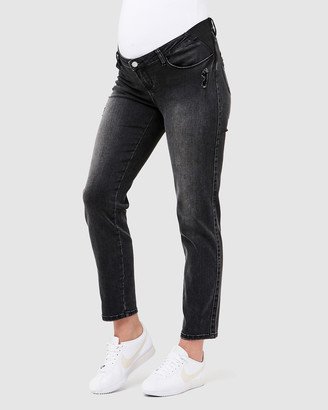 Ripe Maternity Dylan Distressed Jeans