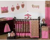 JoJo Designs Sweet Cheetah Girl Collection 9-Piece Crib Bedding Set