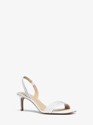 MICHAEL Michael Kors Mila Studded Leather Sandal