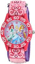 Disney Kids' W001992 Princess Analog Display Analog Quartz Watch