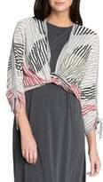 Nic+Zoe Multi-Stripe Cardigan