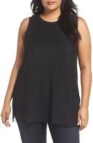 Plus Size Women's Rebel Wilson X Angels Mesh Overlay Top