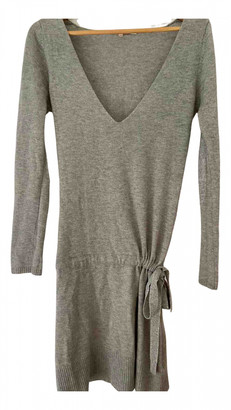 Berenice Grey Cashmere Dress for Women