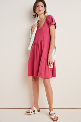 Kathie Flounced Mini Dress By Saturday/Sunday in Grey Size XS