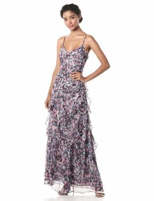 Parker Women's Barcelo Ruffled Chiffon Dress