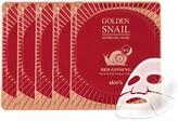 Skin79 Golden Snail Gel Mask (Red Ginseng) - Set of 5