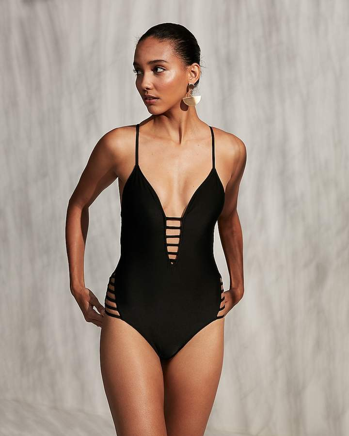 67de39b9d7e6 Sexy Black One-piece Swimwear - ShopStyle