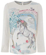 Monsoon Hazel Horse Long Sleeve Top