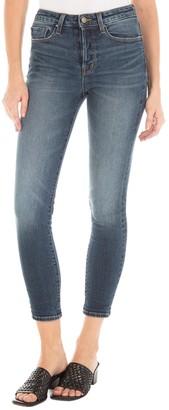 Fidelity Pixie High Waist Skinny Cropped Jeans