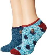 Sperry Dots Cozy Liner with Gripper Women's No Show Socks Shoes