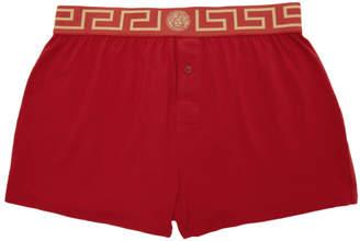 Versace Underwear Red Medusa Boxers