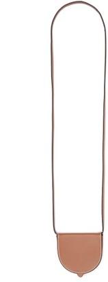 Loewe Heel Mini Leather Pouch - Womens - Tan