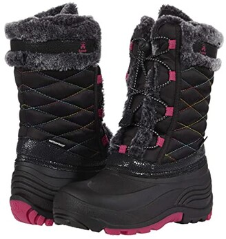 Kamik Star 2 (Toddler/Little Kid/Big Kid) (Black) Girl's Shoes