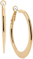 Kenneth Cole New York Edge Hoop Earrings