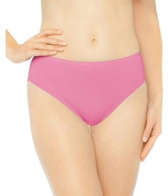 Gildan Women's Premium Cotton Hi-Cut Bikini, 6-pack