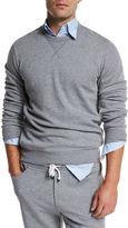 Brunello Cucinelli Cotton Crewneck Spa Sweatshirt