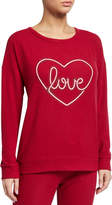 PJ Salvage Love Graphic Long-Sleeve Lounge Top