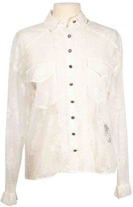 The Kooples White Lace Top for Women