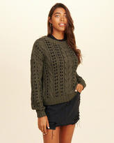 Hollister Open Stitch Cable Sweater