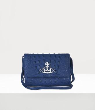 Vivienne Westwood Johanna Crossbody Wallet Blue
