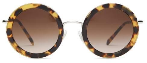 97b9bce3f415 Miu Miu Acetate Sunglasses - ShopStyle