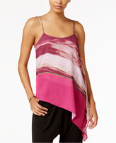 Rachel Roy Printed Asymmetrical Top, Only at Macy's