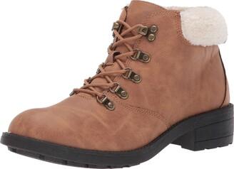 Rocket Dog Women's Train Lane PU/Shepherd Fabric Fashion Boot