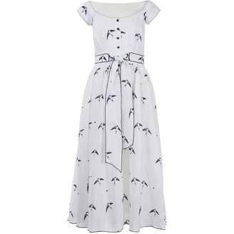 Gül Hürgel \N White Linen Dresses