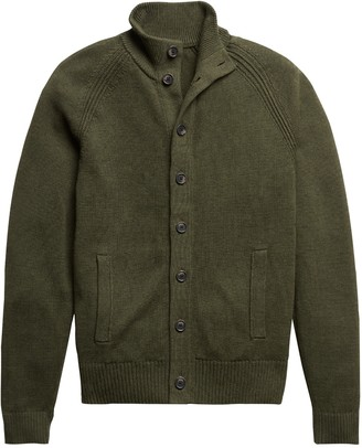 Banana Republic Organic Cotton Sweater Jacket