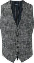 Tagliatore suit waistcoat - men - Cotton/Nylon/Spandex/Elastane/Cupro - 52