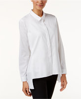 Alfani High-Low Shirt, Only at Macy's