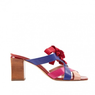 Marc by Marc Jacobs Multicolour Leather Sandals