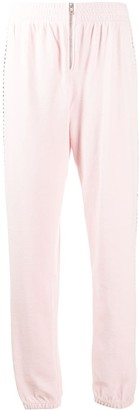 Juicy Couture Swarovski embellished velour jogger pant