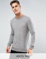 Asos TALL Cotton Crew Neck Sweater