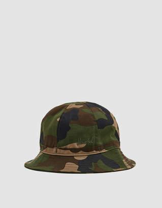 Herschel Cooperman Bucket Hat in Woodland Camo