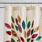 Pier 1 Imports Peacock Sari Shower Curtain