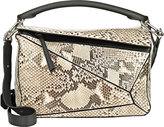 "Loewe Women's ""Puzzle"" Small Shoulder Bag-NUDE"
