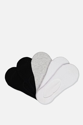 Cotton On Kids 5pk No Show Socks