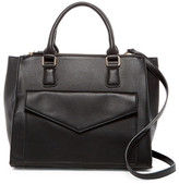 Urban Expressions Marlowe Vegan Leather Satchel