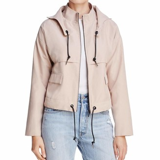 Finders Keepers findersKEEPERS Women's Camberwell Drawstring Lightweight Canvas Jacket