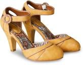 Joe Browns Twilight Cafe Shoes - Mustard