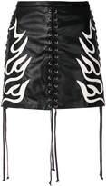 McQ lace-up mini skirt