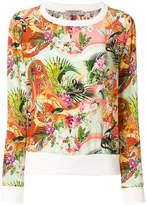 Piccione Piccione Piccione.Piccione tropical print sweatshirt