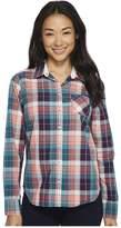 U.S. Polo Assn. Cotton Poplin Plaid Shirt