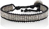 M. Cohen Men's Beaded Cord Bracelet-BLACK