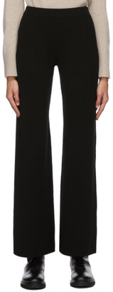 S Max Mara Black Elastic Band Silvia Trousers
