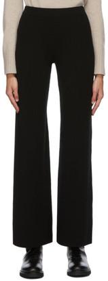S Max Mara Black Elastic Band Silvia Trousers