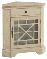 Christopher Knight Home One Drawer One Door Corner Cabinet