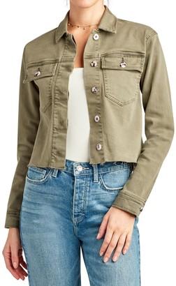Sam Edelman The Aimmie Crop Utility Jacket