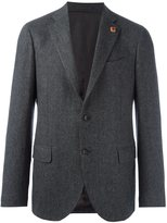 Lardini three button blazer - men - Cupro/Viscose/Wool - 50